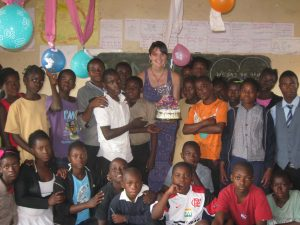 Hannah B-day in Zambia