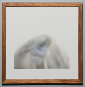 Being Found in Human Form, Barry Sherbeck, Photograph, bands of cloth, 2013, 17 x 17, Philippians 2:8, $200