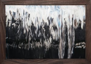 Wash Over Me, Barry Sherbeck, Photograph on metallic paper; mahogany, 2012, 20 x 28, John 5:7, $350