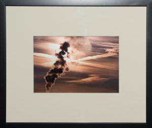 Vapor Management, Barry Sherbeck, Photograph on metallic paper, 2010, 22 x 28, James 4:14, $250